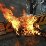 Chechen Woman Sets Herself On Fire In Spain