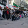 Demonstration Against Puppet Kadirov's so-called Embassies in Austria