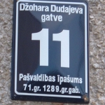 Latvians Want to Keep Avenue of Dudaev