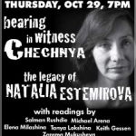 Human Rights Defenders Came Together for Natalya Estemirova