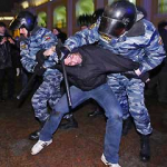 Russian Police Break Up Protests, Scores Detained