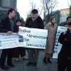 Rally in Memoriam of Maskhadov in Moscow