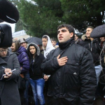 Support Demonstration in France for Chechen Family