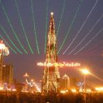 Kadyrov's Muslim Chechnya Celebrates the New Year