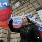 Young Russians Demand Akhmadov's Extradition