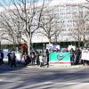 Demonstrations for Aslan Maskhadov