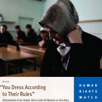 HRW: Chechen Women Abused If Refuse to Cover Head