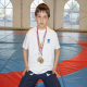 Promising Young Chechen Wrestler in France