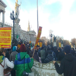 Demonstration in Austria Against Extraditions