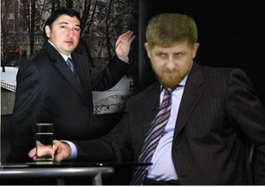 Maksharip Aushev and Ramzan Kadirov