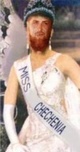 Miss Chechnya Ramzan Kadirov