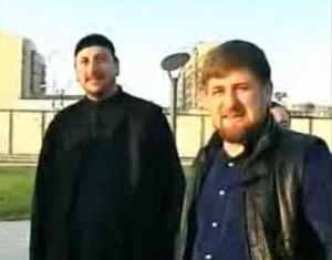 Mullah Bai-Ali Tevsiyev and Puppet Ramzan Kadirov