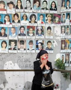 Photos of Victims by Russian Forces in Beslan