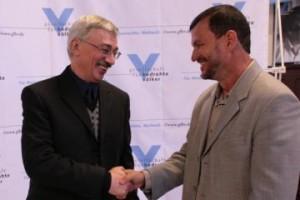 Oleg Orlov and Jose Eden Pereira