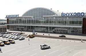Vnukovo Airport in Moscow