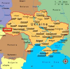 Waynakh Online Handicapped Chechen Refugee Detained In Ukraine - Uzhhorod map