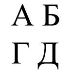 Alphabet tchétchène