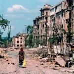 Premier poème après la sortie de Tchétchénie