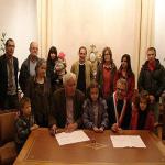 Les enfants Bakhaïev parrainés par la Ville