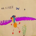 Fête de solidarité pour Rizvan à Vaour