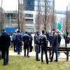 Manifestation en Belgique contre l'extradition des demandeurs d'asile Tchétchènes