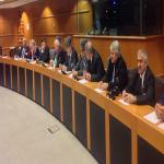 A.Zakaïev a tenu une conférence de presse au Parlement Européen