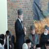 Discours d'A.Zakaïev après le cérémonie commémorative à Charleroi (en tchétchène)