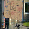 Manifestation contre l'expulsion d'un élève tchétchène