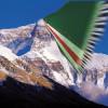 İchkeria Bayrağı Everest' in Zirvesinde Dalgalanacak