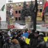 Kiev' de Putin Karşıtı Gösteri Yapıldı