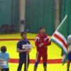 Uluslararası Dövüş Turnuvası' nda İchkeria Bayrağı Dalgalandı