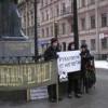 St.Petersburg' da Protesto Gösterisi