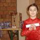 Minik Çeçen Jimnastikçi Umut Vadediyor
