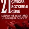 Çerkesler 21 Mayıs Soykırım Günü İçin Taksim'de Toplanıyor