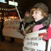 Moskova'da Çeçenya için Gösteri