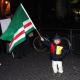 Strasbourg'da Çeçen Sığınmacılara Destek Mitingi