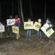 Finlandiya'daki Çeçenlerden Nefret Söylemine Karşı Gösteri