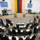 Litvanya Parlamentosu'nda Tartışma Oturumu