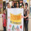 Polonya'daki Çeçen Çocukların Boston İçin Dayanışması