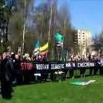 Litvanya' da Dudaev Anısına Gösteri