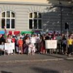 Danimarka'da Rusya Karşıtı Gösteri