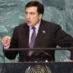 Saakashvili Çeçenya'daki Soykırıma Değindi
