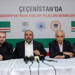 Türkiye'deki STK'lar Kukla Kadirov İçin Uyarıda Bulundu