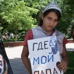 Kayıp Yakınlarından Protesto Gösterisi