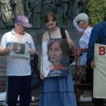 Ölümünün Birinci Yıl Dönümünde Natalya Estemirova Anıldı