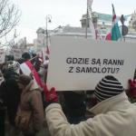 Polonya Medvedev'i Protestolarla Karşıladı