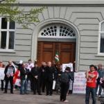 Kopenhag'ta Protesto Gösterisi Düzenlendi