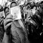 Çeçen Kadınlardan Grozny'de Protesto Gösterisi