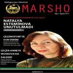 """Aylık Dergi """"Marsho""""nun Ağustos 2013 Sayısı Yayınlandı!"""
