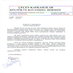 Ankara Çeçen Derneği'nden Adalet Bakanlığı'na Başvuru
